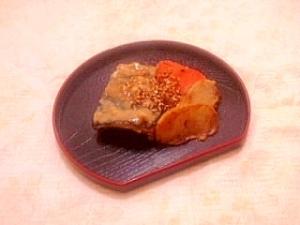 ふっくら鯖の味噌焼き