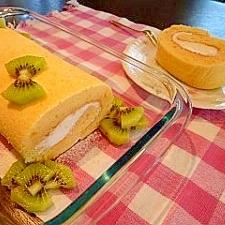 ふんわり☆しゅわ~☆米粉のロールケーキ