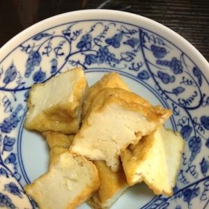 簡単フライパンで厚揚げ料理
