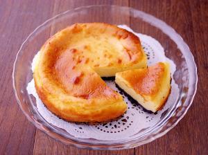 簡単ホットケーキミックス☆酸味の少ないチーズケーキ
