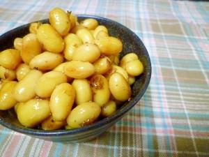 大豆水煮で簡単煮豆★
