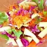 紫キャベツがポイント☆カラフルおしゃれサラダ♪