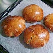 メープルシロップで作る!やさしい甘さのくるみパン♪