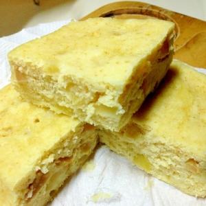 シリコンスチーマーで簡単りんごケーキ・時短