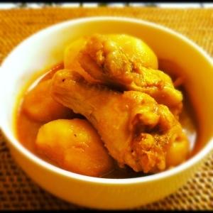 手羽元と根菜の韓国煮