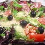 野菜とナッツのイタリアンサラダ
