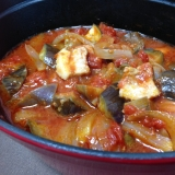 ストウブで☆豚バラとなすのトマト煮