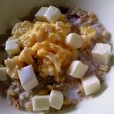 炒り卵とチーズのグラノーラ