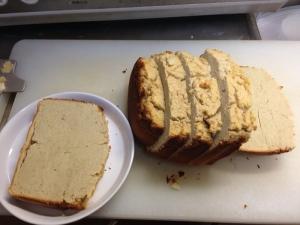 小麦粉不使用!HBで、おからバナナパウンドケーキ