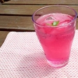 レモンとハチミツでさっぱり赤紫蘇ジュース
