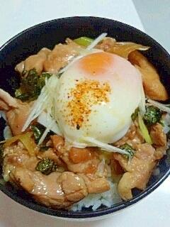 黄金比は1:1:1★簡単おいしい焼き鳥丼