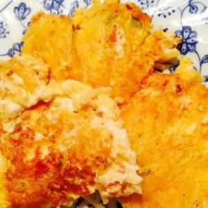 サラダスパリメイクの卵焼き