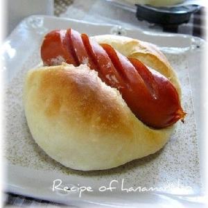 HBでパン生地作り ウインナーパン