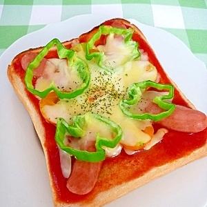 ピザソースなくても☆なんちゃってピザトースト