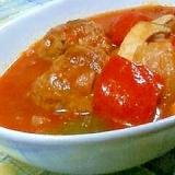 トマト缶で簡単うまい☆煮込みハンバーグ☆