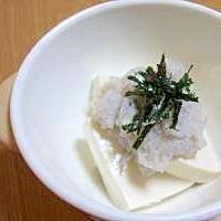 離乳食★豆腐のれんこんがけ