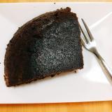 おから入りチョコレートケーキ、小麦粉なし