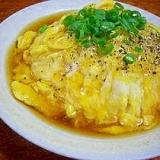 卵ふわふわ♪めぐ家の天津飯♪♪