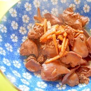 すきやきのタレ&赤味噌で☆鶏レバーの味噌煮