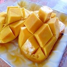簡単&かわいい&食べやすい♪マンゴーの切り方