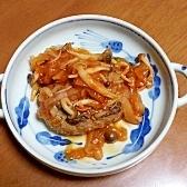 キノコの煮込みハンバーグ☆