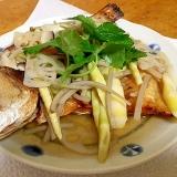 鯛の干物の和風あんかけ(よか魚ドットコム)