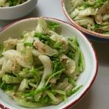 白菜を大量消費*白菜のおかかマヨ和え