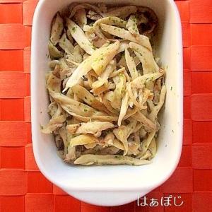 簡単常備菜♪のり塩エリンギ