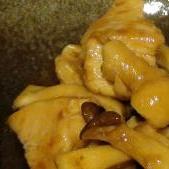 鶏むね肉とエリンギのオイスター炒め
