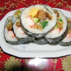我が家の巻き寿司