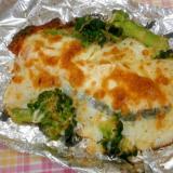 おすすめ!鮭と野菜のチーズ焼き