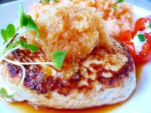 食物繊維たっぷり!ごぼうの豆腐チキンハンバーグ☆