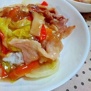 ご飯がすすむ味付けの✿冷蔵庫にある野菜で中華丼❤