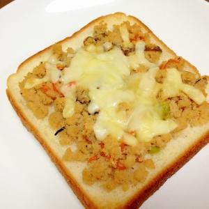 卯の花で☆卯の花のチーズトースト