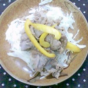 豚肉とパプリカの塩麹炒め