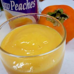 ビタミンC!(^^)柿とヨーグルトのスムージー♪