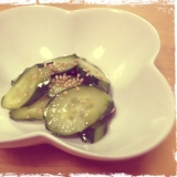 焼肉屋さんの胡瓜の漬物