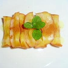 レンジで、簡単焼きリンゴ
