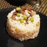【富山食材】蛍烏賊とえんどう豆のリゾット