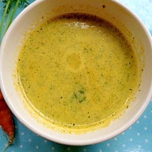 【病気の時も無理なく】人参かぼちゃスープ