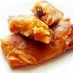春巻の皮で 簡単アップルパイ