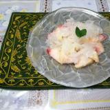 甘酸っぱい。桃と白キクラゲのデザート