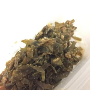 出汁をとった後の昆布などを活用!レンジで昆布の佃煮