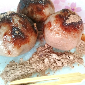 材料3つでとっても簡単☆豆腐チョコ団子