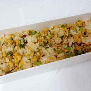 春菊炒り卵混ぜご飯