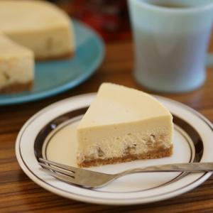 メープルシュガーとくるみのチーズケーキ