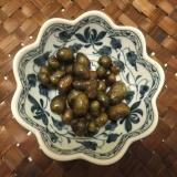 むかごの醬油豆風