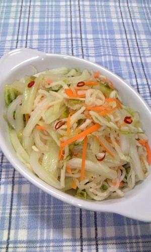 白菜と切り干し大根のラーパーツァイ風♪