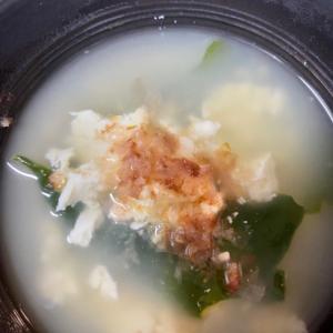 超簡単!おぼろ豆腐スープ