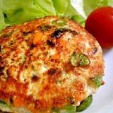 簡単鶏ミンチハンバーグ